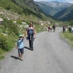 Weg in Jamtalhütte