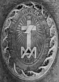 Tombstone of Fr Mary Alphonse